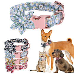 Lovely Flower Dog Collars Pet Cat Show Necklace for Small Large Girl Dogs Gifts $10.69