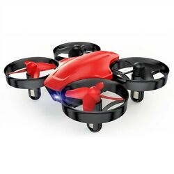 SNAPTAIN SP350 Mini RC Drone Altitude Hold Quadcopter 3 Batteries 3D Flips Red $16.99