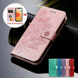 Woman Leather Wallet Case Flip Cover For iPhone 13 12 Pro Max 11 XS XR 8 7 6Plus $8.41