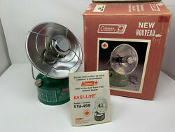 Brand New Coleman 519 Radiant Heater January 1982 NOS C $1500.00