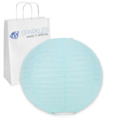 75 pcs 6quot; inch Chinese Paper Lantern Light Blue Wedding Party Event nr $45.99