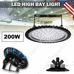 200W UFO Led High Bay Light Led Commercial Industrial Factory Warehouse Lighting