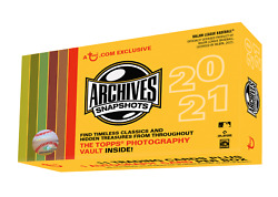 2021 Topps Archives Snapshots Sealed Hobby Box Online Exclusive $45.00