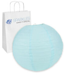 75 pcs 16quot; inch Chinese Paper Lantern Light Blue Wedding Party Event ov $89.99