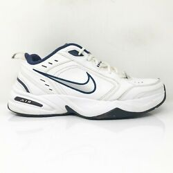 Nike Mens Air Monarch IV 415445 102 White Running Shoes Lace Up Low Top Size 10 $49.49