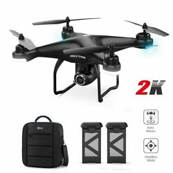 Holy Stone HS120D RC GPS Drone with 2K FHD Camera FPV Quadcopter for Beginners $149.99