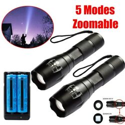 Most Powerful 990000LM LED Flashlight Super Bright Rechargeable Tactical Torch $9.78