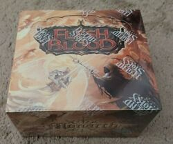 Flesh and Blood Booster Box Monarch First Edition $250.00
