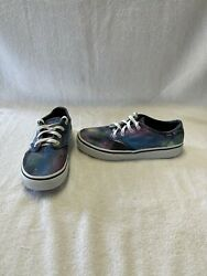 Vans Off The Wall Girls Galaxy Space Shoes size 3.5 Y $18.00