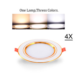 4X Downlights LED Ceiling Dimmable 5W 7W 12W Recessed Cool Warm Nature White $21.90