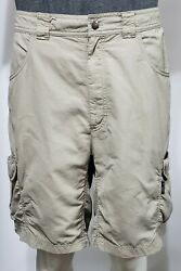 Columbia Mens GRT Rugged Trekking and Travel Cargo Shorts Size X Large Omni Dry $29.99
