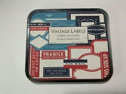 Vintage Labels Assorted Decorative 24 sheets Self Adhesive Italy $12.99