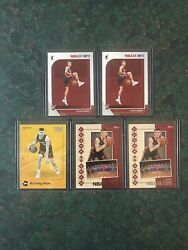 Tyler Herro 2019 20 Panini NBA Hoops RC Lot 5 Cards. Base RC and Inserts $5.00