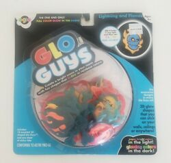 Oglo Glo Guys 18 Assorted 3D Shaped Pieces Glow in the Dark 2010 New $9.99