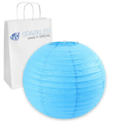5 pcs 20quot; inch Chinese Paper Lantern Turquoise Wedding Party Event qq $12.99