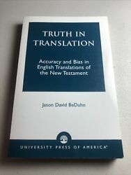 Truth in Translation : Accuracy and Bias in English Translations of the $55.00