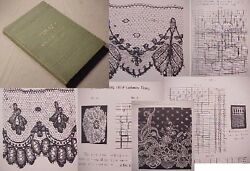 1909 SILK:LACE NET BOBBIN TORCHON Makingthreadsfrench cashmere Spanish russian