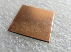 1x COPPER SHIM FOR DELL XPS M1330 NVIDIA GPU TO RESOLVE OVERHEAT ISSUE 0.5MM $4.49
