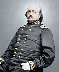 General Benjamin Butler Beast Butler Color Tinted photo Civil War 04894