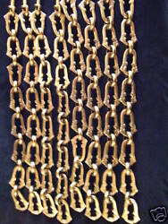 SOLID BRONZE CHAIN FOR ANTIQUE CHANDELIERS $50.00
