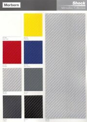 Shock Carbon Fiber Vinyl for Marine Automotive General Seating - By the Yard