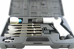 9PC AIR HAMMER SET Speed: 3500 RPM. 5pc 3 8quot; Shank Chisels $40.29