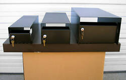 Mailbox Lockbox - Locking Mail Box Insert - Three Sizes
