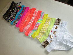 NEW Victoria#x27;s Secret Bikini Swimsuit Bottoms Beach Sexy Ruched Sides Low Rise $9.95