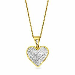 3.66 CTS 18K YELLOW GOLD DIAMOND PENDANT P0177