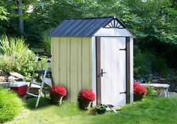 Arrow 4 x 6 Designer Series Metro Shed Kit with Steel Floor (DSM46)