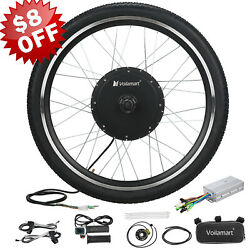 Voilamart 48V Front Wheel Electric Bicycle Motor Conversion Kit 1000W eBike Hub $211.99