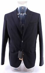 Men's Dress Jacket And Pants DSQUARED S74FT0198 Col524 Wool Blue Made In Italy