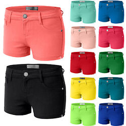 Womens 12Color Casual Skinny Jeggings Stretchy Ponte Fitted Shorts Comfort WP09 $11.99
