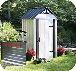 Arrow 4x4 Designer Series Metro Shed Kit with Steel Floor (DSM44)