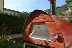 Indoor and outdoor wood fired pizza oven 70x70 Pizza Party RED PASSIONE TOSCANA