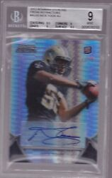 2012 Bowman Sterling Prism Refractor Nick Toon Auto Rc # to 15 BGS 9 amp; 10 Auto $39.95