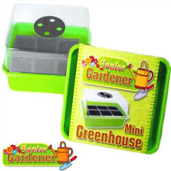 Mini Greenhouse Kit - Propagator Junior Gardener Set - GiftPresent