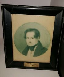 ANTIQUE PAINTING Portrait of Army Sub Lieutenant Don Mariano Lataday 1776 1845