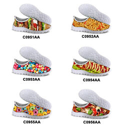 Novelty Women Running Shoes Lightweight Trainers Casual Sports Breathable Shoes $23.99