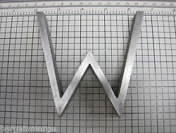 Aluminum Letter W For Commercial Signs 6 inch