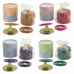 USE STICKS? TRY COILS - 200 (2 HOUR) INCENSE COILS with HOLDER 1 2 or 4 Scents