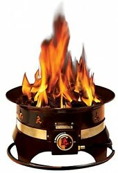 Portable Propane Fire Pit Camping Tailgating Sports RV Park Deck Patio Party