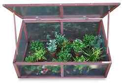 Cold Frame Shrubs Sprouts Seedlings Backyard Plant Mini Weeds Greenhouse Lid Box