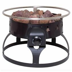 Portable Propane Gas Fire Pit Firepit Fireplace Heater Outdoor Camping Patio New
