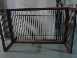 Set of two beautiful wood and wire baby or pet gates $60.00