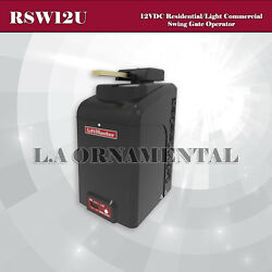 Liftmaster RSW12U - 12VDC ResidentialLight Commercial Swing Gate Operator $1,928.00