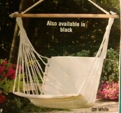 Hammock Swing Padded Swing Hanging Outdoor Garden Patio Porch Lounge Chair