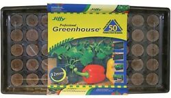 50-Plant Starter Kit Indoor Professional Greenhouse Gardening Peet Pots Yard