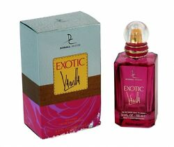 EXOTIC VANILLA Women#x27;s Boutique Impression 3.3 oz EDP Spray by DORALL COLLECTION $16.95