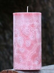 200hr CHERRY BLOSSOMS & EXOTIC SANDALWOOD Triple Scented Natural CANDLE Handmade